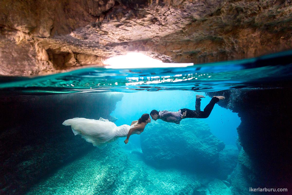 Fotografía bajo el agua en Mallorca