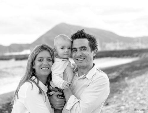 Fotografía de familia en Altea