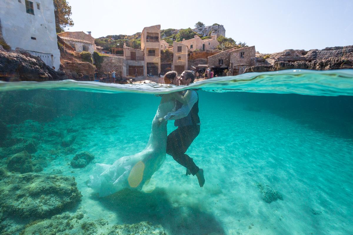 Mallorca Underwater Trash the Dress