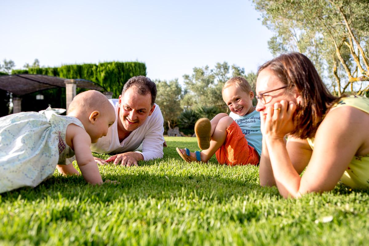 Familie Fotograf auf Mallorca