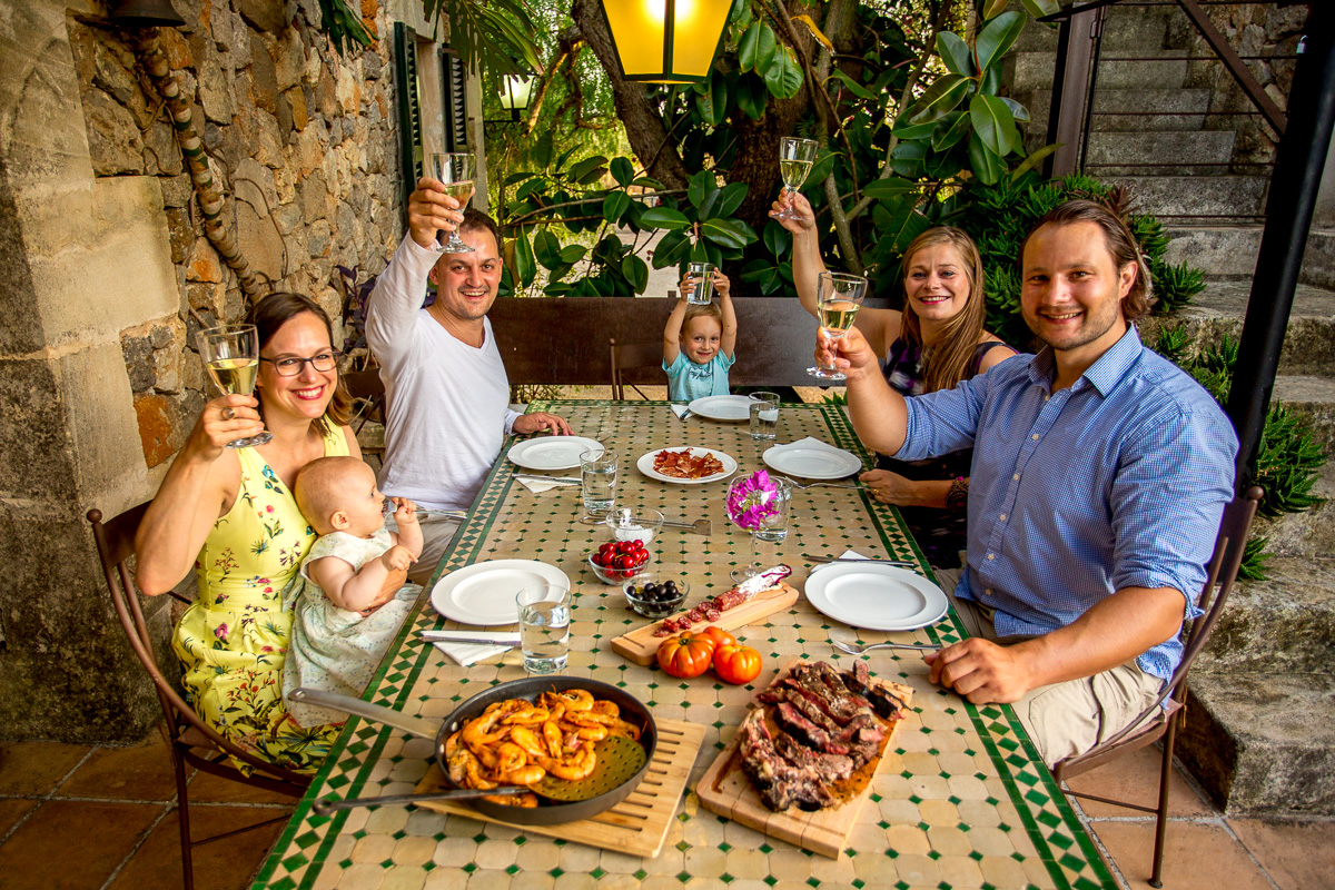 Familien Fotoshooting im Urlaub auf Mallorca