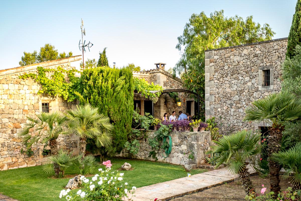 Familien Fotoshooting im Urlaub auf Mallorca Finca