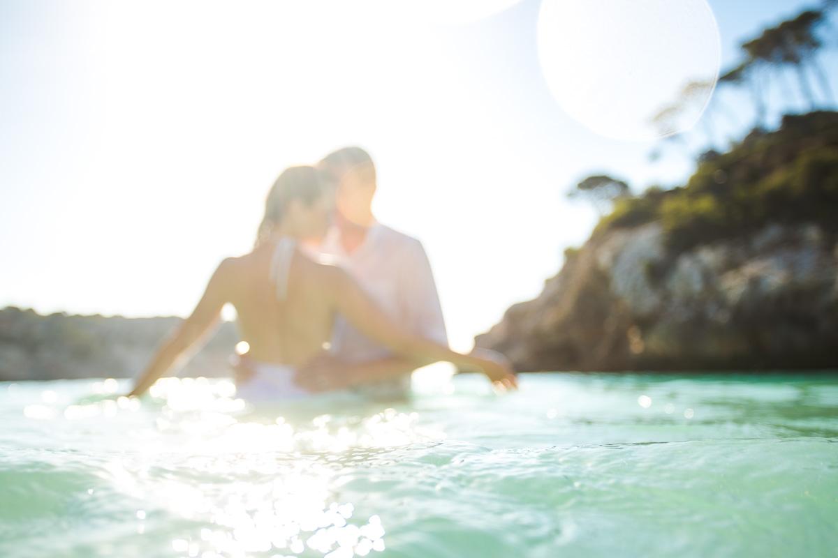 Mallorca romantic photo shoot