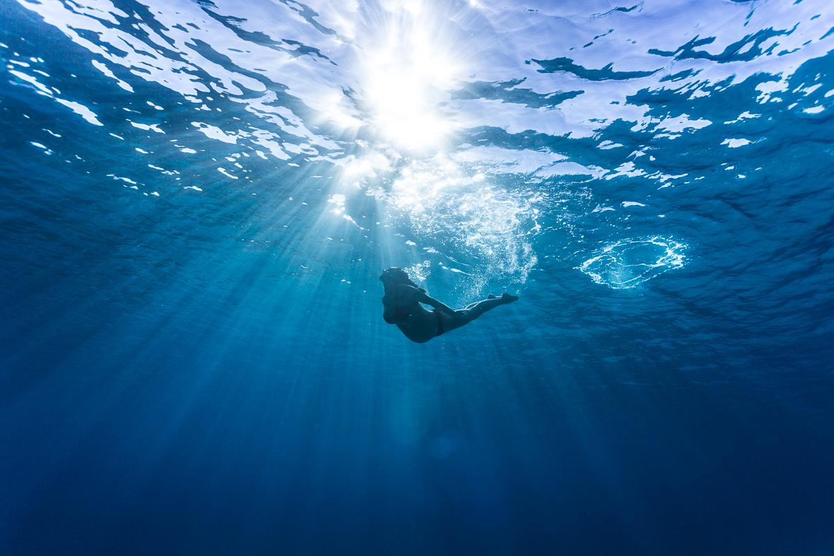 Fotograf a de premam bajo el agua mallorca iker for Imagenes de hoteles bajo el agua