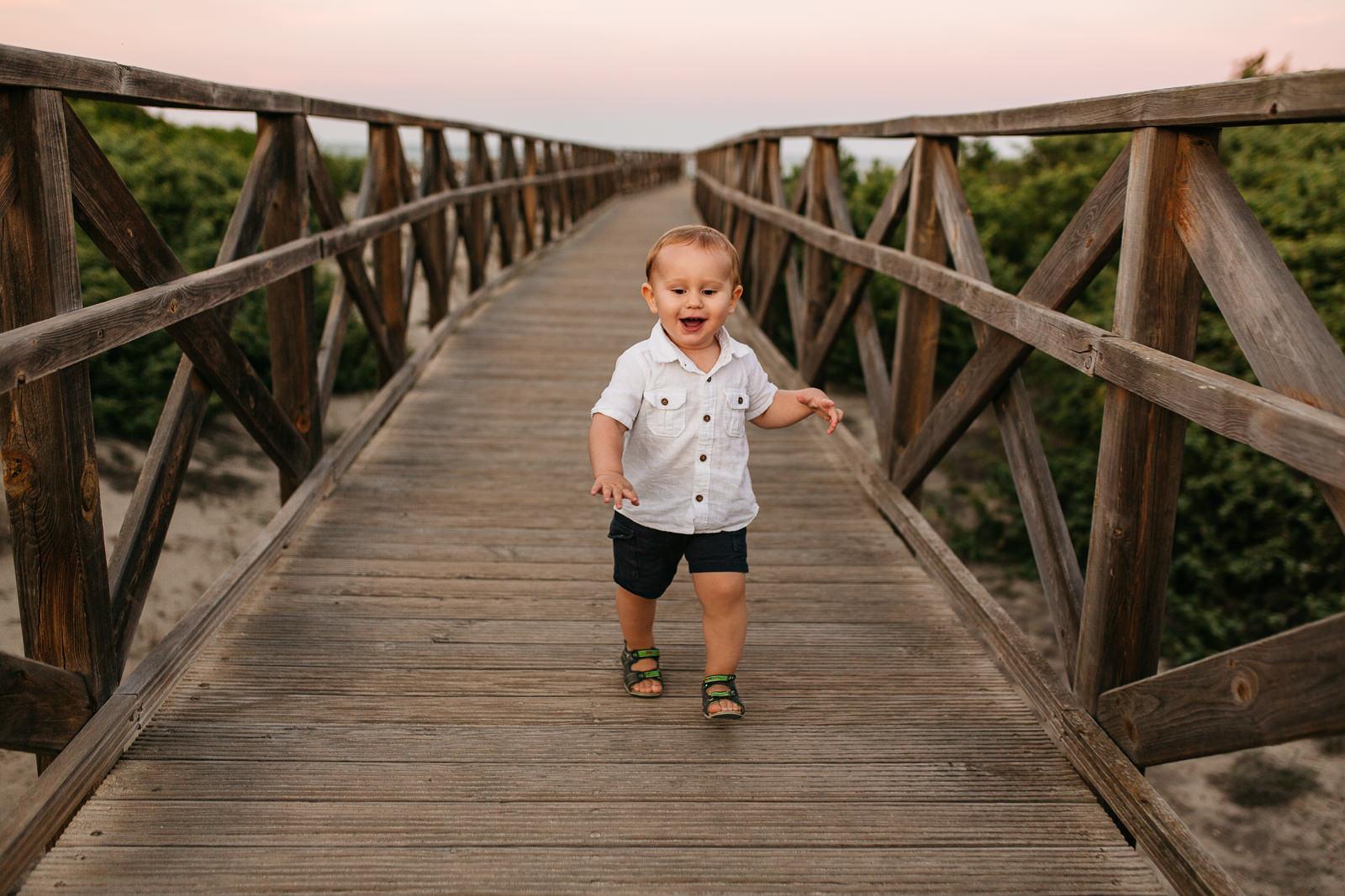 Fotos de familia en Mallorca con bebés