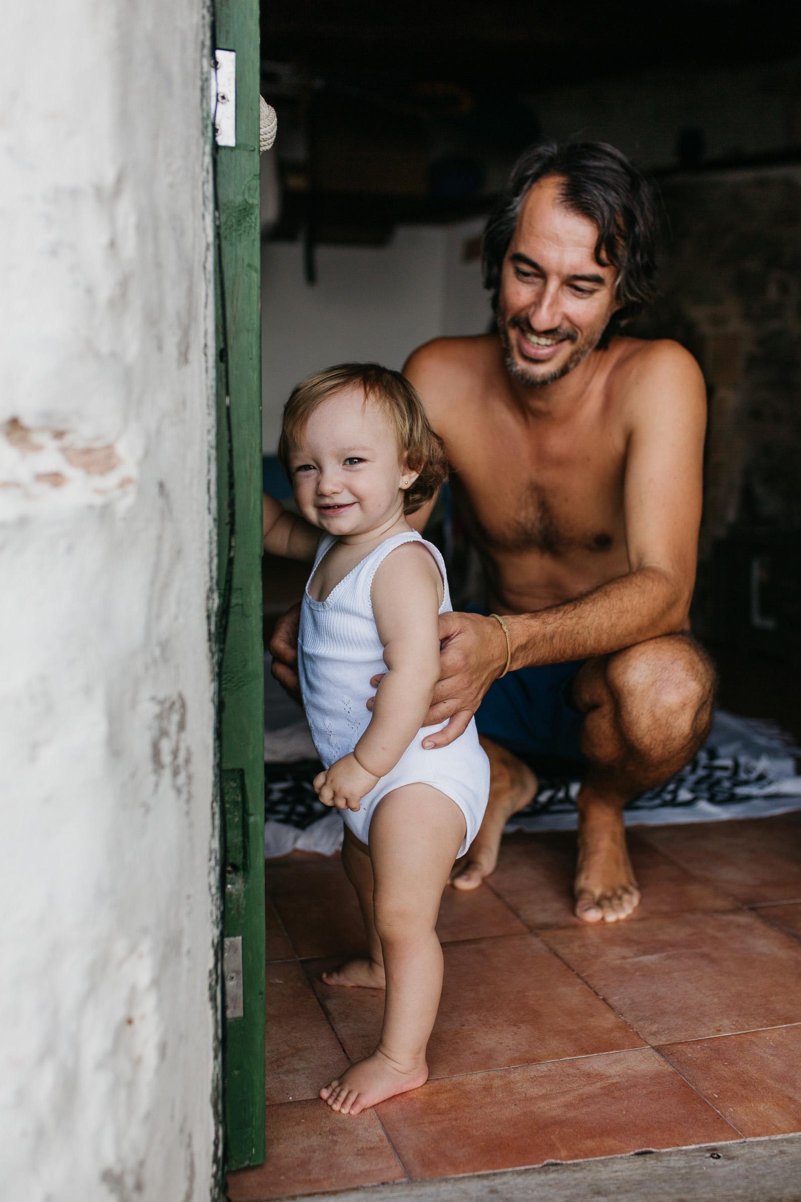 Fotografía de Familia Lifestyle en Mallorca
